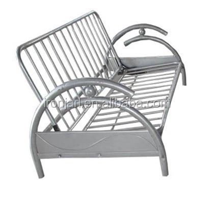 2015 Hot Sell ! Modern Metal Folding Sofa Bed,steel Folding Sofa Bed Futon  Metal