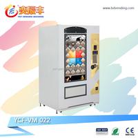 24 hours service 47 ' touch screen vending machine drink beverage book snack vending machine YCF-VM022