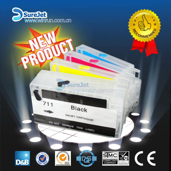 Wholesale China 711 Refill Ink Cartridge For Hp T120 T520