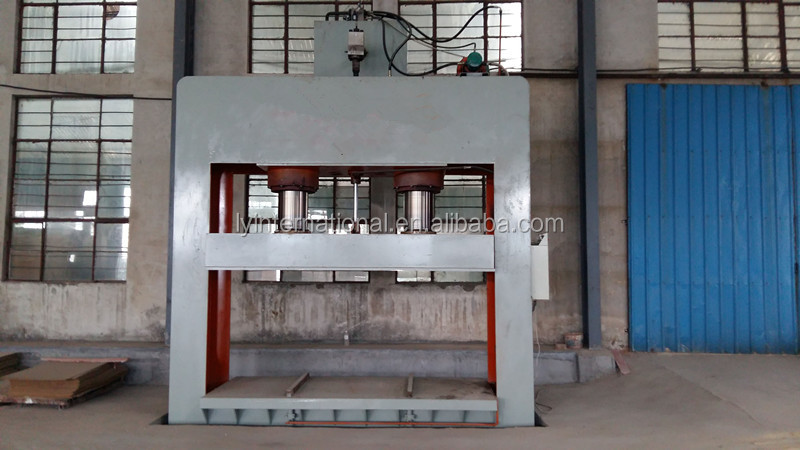 The small cold press for wood veneer , hydraulic cold press woodworking machine