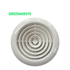 ABS Air Outlet Round Air Vent with Plastic Insect Net