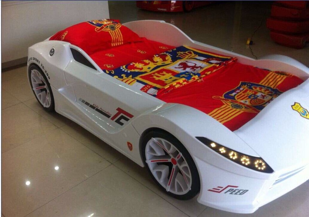 Eco friendly Kid s Race Car Bunk Bed Buy Kid s Race Car Bed Kids