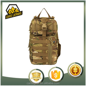 Canis Latrans Multi- Function Portable swiss arm navy backpack surplus backpack