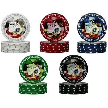 14g Casino royale las vegas clay poker chips