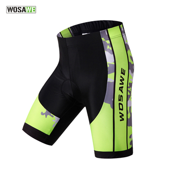 WOSAWE 3D Padded Gel Cycling Shorts Shockproof MTB Road Bike Shorts  Reflective Bicycle Short Pants Bermuda 31dcad80c