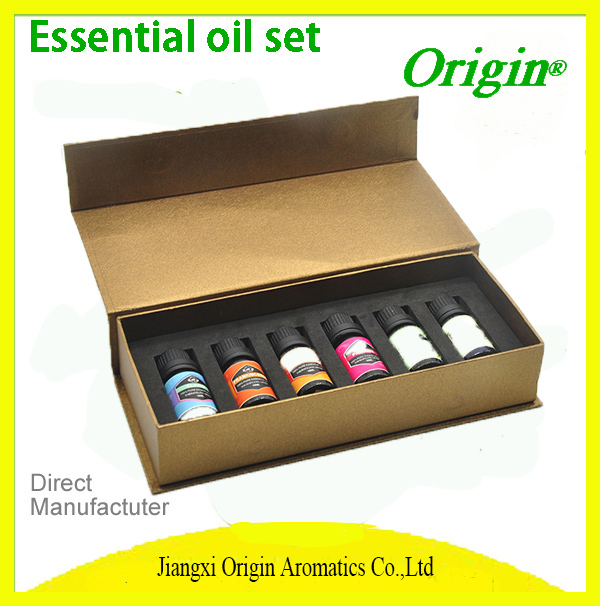Private Label OEM 100% Pure Essential Oil Set 8 Geranium Oil