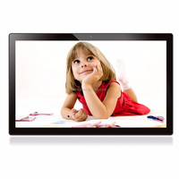 21.5 inch 10-Point capacitive touch screen large size wifi digital photo frame