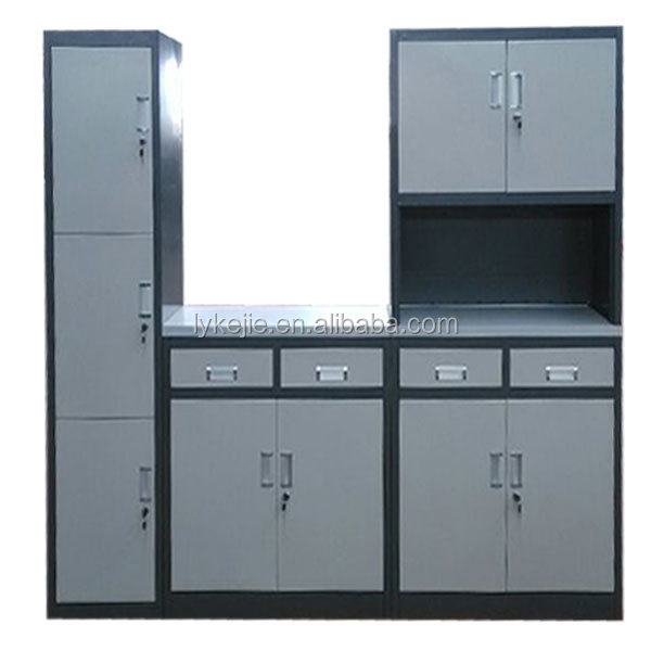 Wholesale New style ready made kitchen cupboard metal cabinets for ...