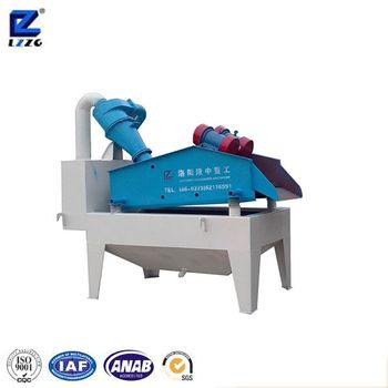 LZZG 0.16-3mm fine sand recycling machine for sale, LZ350 with single cyclone