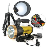 Built in Battery 1000 Lumens CREE T6 LED Flashlight with Holder and Lanyard