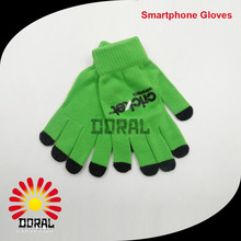 2016 Fashional Popular Cheap Wholesale Customized Plain Colors Smart Touch Screen Gloves