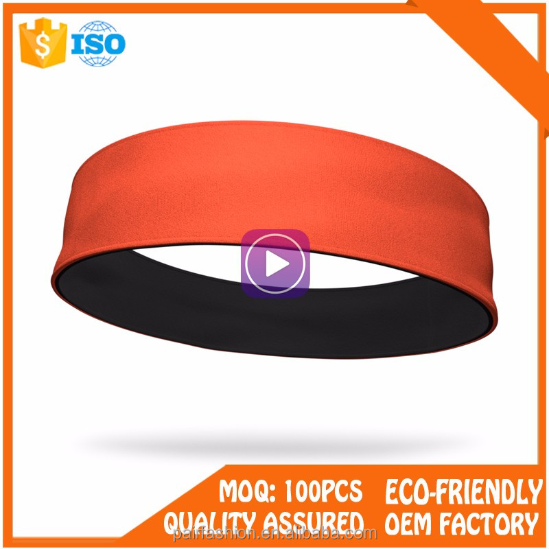 Best selling new high quality polyeater Sport Yoga Headbands