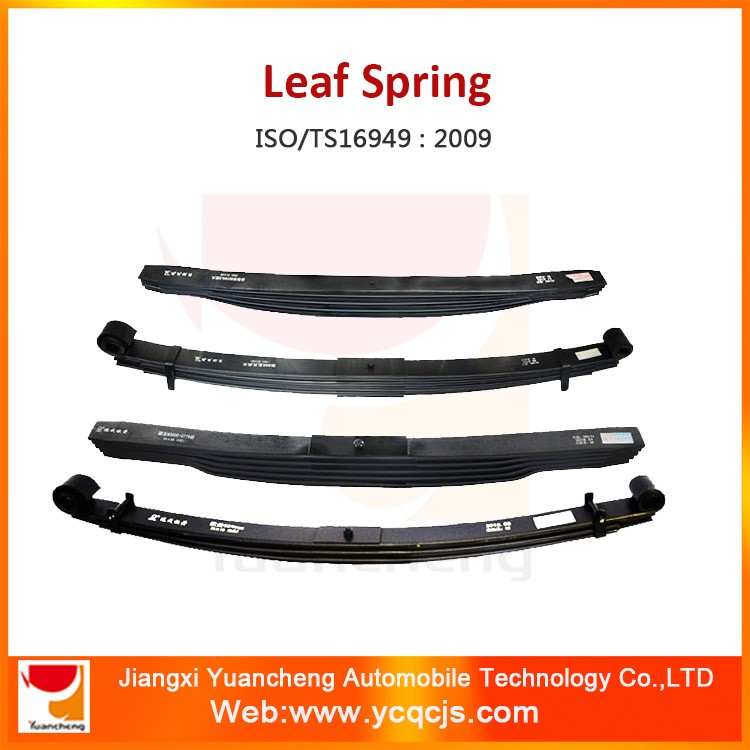 Car Spare Parts Man Tga Dump Truck Suspension Part Leaf Spring