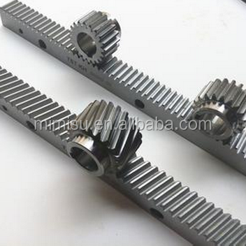 High quality helical gear rack for wood cutting machine spare parts
