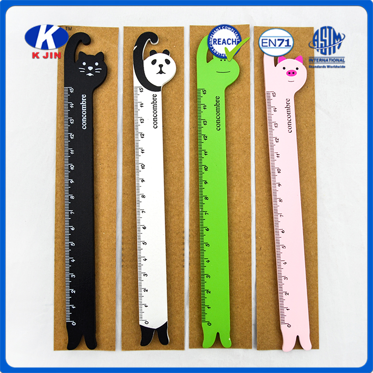 2016 plastic Mini Stationery vernier caliper with students supplies