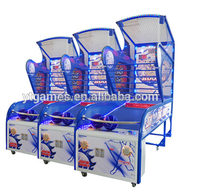 Popular in India marketshooting hoops indoor amusment game machine basketball game