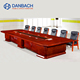 MDF Rectangle Executive Conference Table Seated 10-40 People Boardroom Meeting Table