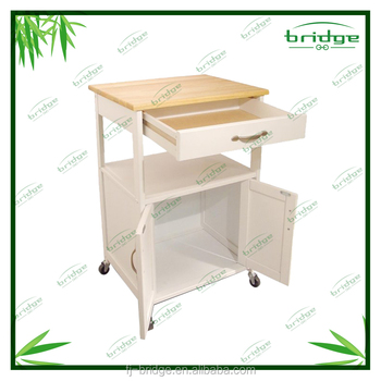 White wooden kitchen/Storage trolley  sc 1 st  Alibaba & White Wooden Kitchen/storage Trolley - Buy Cold Storage Trolleys ...