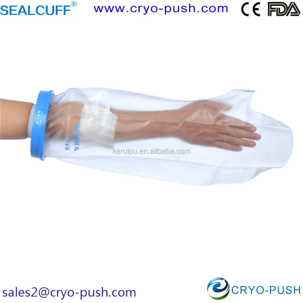 Sealcuff Waterproof Cast and Bandage Cover for the Short Arm of Adult 330231