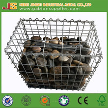 Low cost of gabion baskets with hot dipped galvanized wire mesh low prices