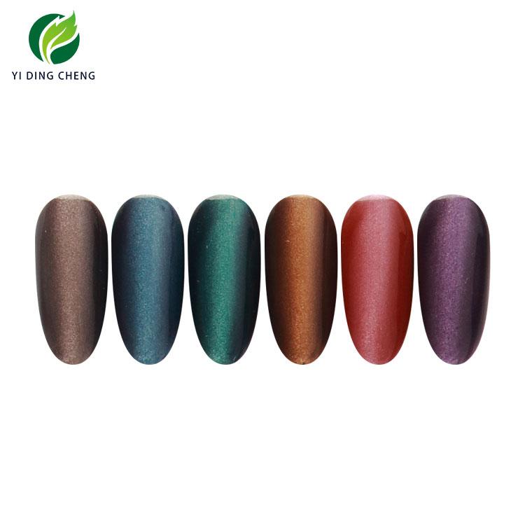 Free Samples OEM/ODM Yidingcheng factory new products soak off UV gel wide cat eye gel polish