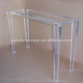 Modern Design Acrylic Perspex Console Table