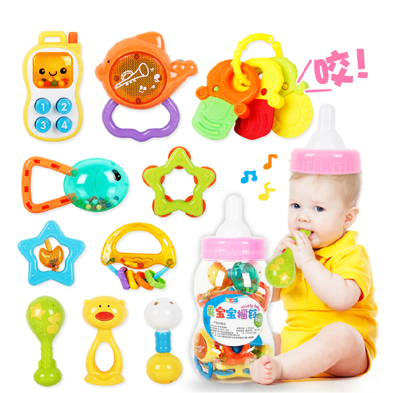 Baby toy 0 1 year old rattles educational toys newborn ...