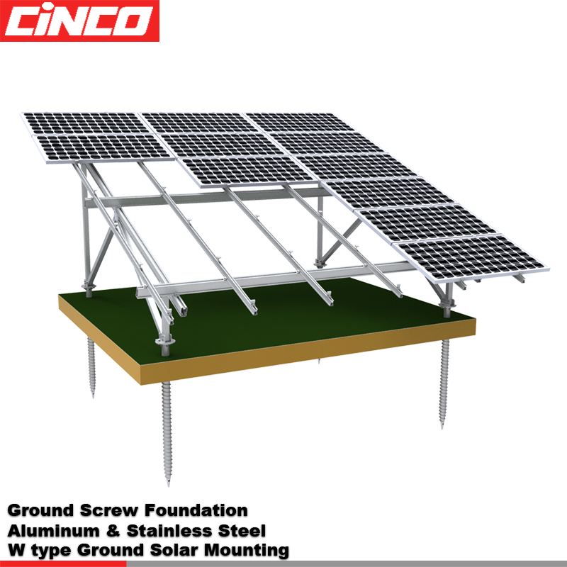 Inclined Roof Solar Panel Rack Install Solar Panel In Roof