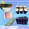 Tyre molding silicone rubber with good hardness