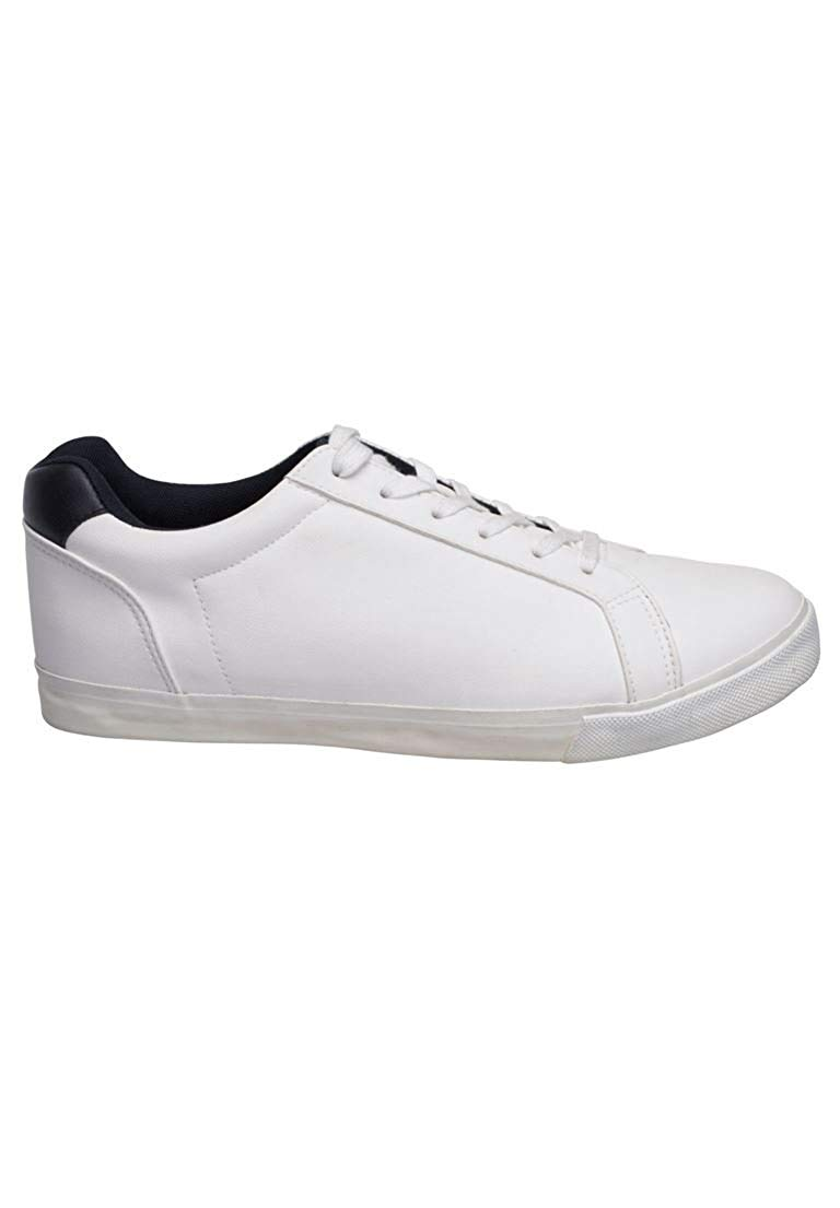 buy popular f49f4 7747f Get Quotations · Liberty Blues Men s Big   Tall Tennis Shoes, White Grey  Colorblock ...