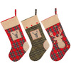 wholesale custom mesh bucilla burlap canvas decorations Christmas stocking kits