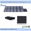High power 120W solar panel battery charger 19v for laptop/battery for camping