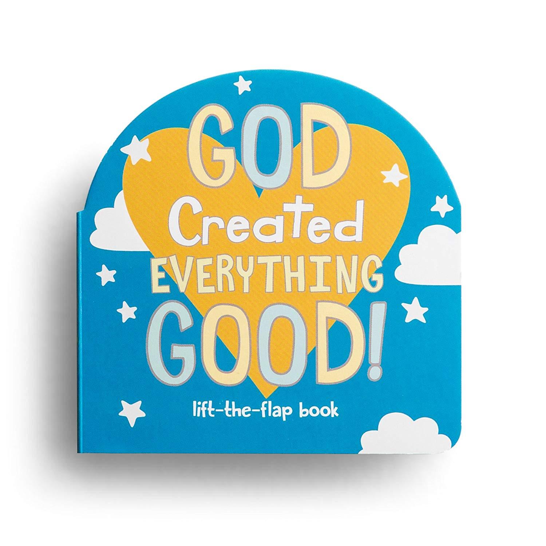 DaySpring Sam & Essie - Everything Good - Lift-the-Flap Board Book