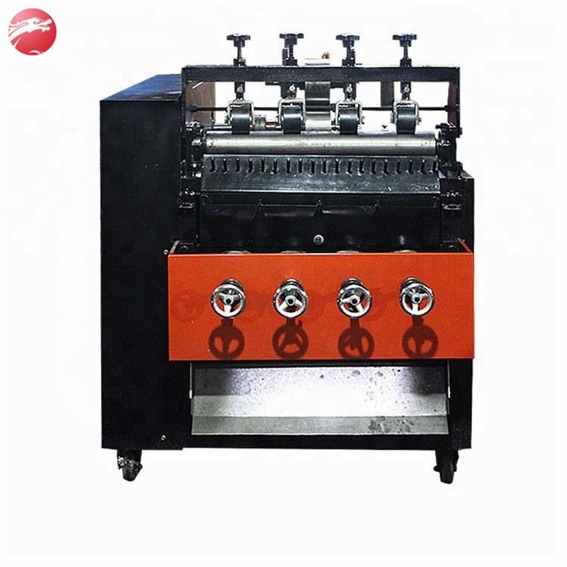 Factory supply stainless steel scourer making machine/pot scrubber making machine