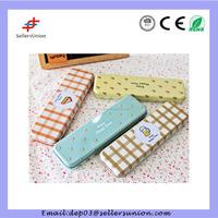 HC-09250 Pen And Pencil Case Square Tin Box