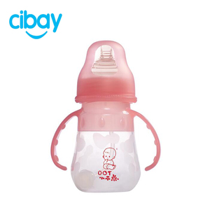 Silicone Baby Feeding Bottles with Anti-colic baby-friendly nipples design