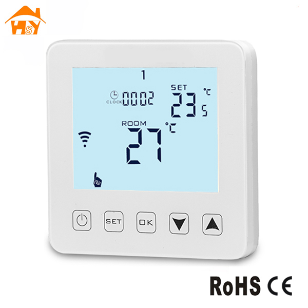 Tuya App Control Wifi Thermostat Esp8266 Smart Underfloor Heating  Temperature Controller - Buy Wifi Thermostat Esp8266,Smart Underfloor  Heating