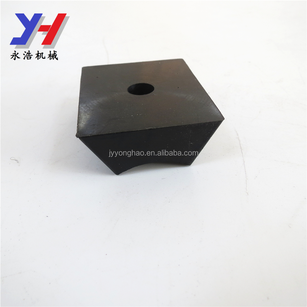 Durable customized Tank shape rubber feet by vulcanization