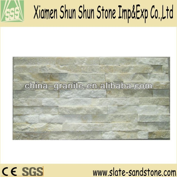 Natural Quartzite Culture Stone Wall Cladding Panels