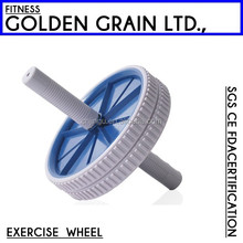 Plastic small ab roller exercise wheel