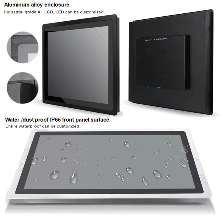 Industrial lcd monitor open frame touch screen 19 for embedded system