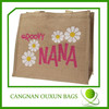 Factory wholesale eco shopping jute bag