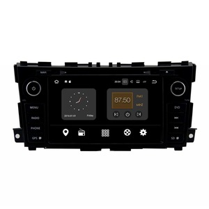 Android 7.1.2 Touch Screen dashboard 2din Car DVD GPS headrest wifi 2013+ , for nissan teana car audio#