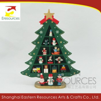 wooden tabletop christmas tree decoration kits - Christmas Decoration Kits