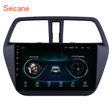 Android 8.1 9 pollici Car DVD Player Sistema Multimediale per 2014-2017 Suzuki S-Cross di SX4 con USB WIFI di sostegno SWC 1080 P DVR