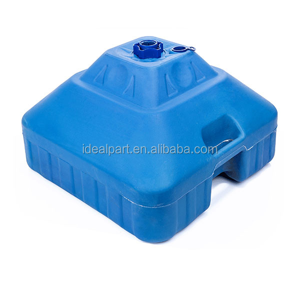 Blowing mold Plastic outdoor umbrella stand