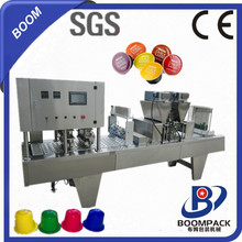 Simple operation, stable operation nespresso coffee filling sealing packaging machine