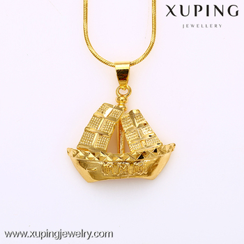 Xuping gold 24k sailing boat pendant for men buy sailing boat xuping gold 24k sailing boat pendant for men aloadofball Image collections