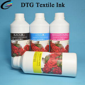 DTG Cotton TShirt Printing Textile Pigment Ink for Epson DX5 Printer Head