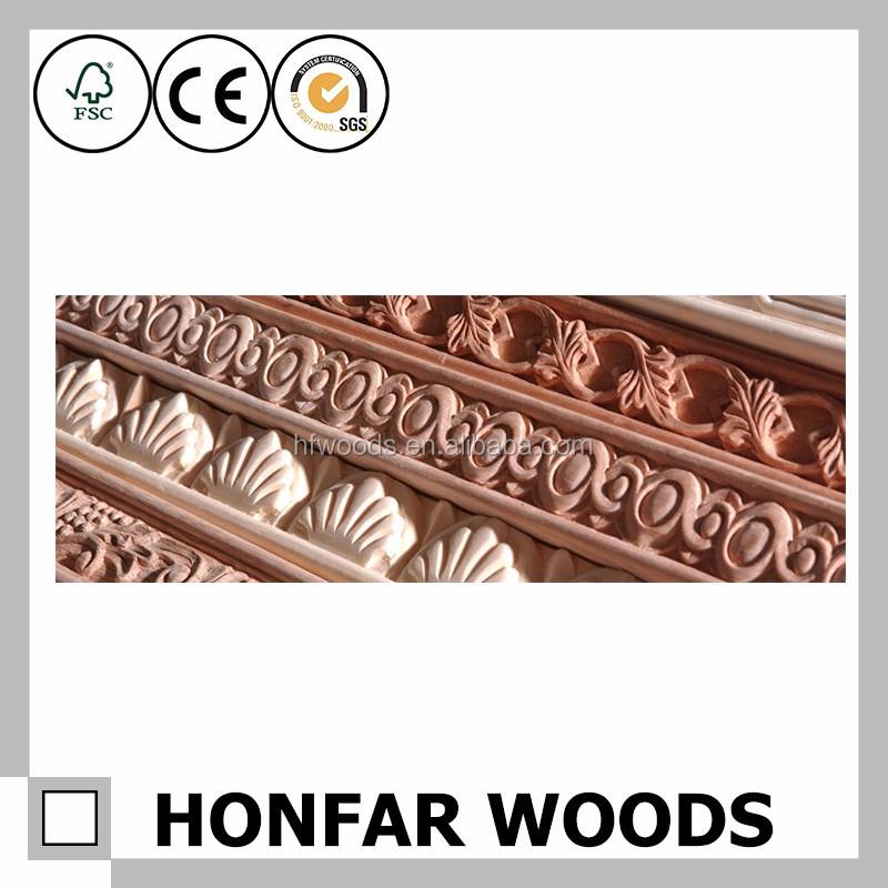 Main Door Wood Carving Design Hot Selling Flower For Decor
